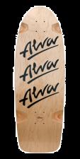 Alva Tri Logo 30 x 10 - Deck - Black