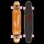 BTFL Longboard - Goldy 2 39.4 - 100cm - Freestyle Cruiser Longboard