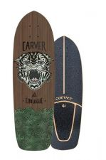 "Carver Sea TIger - 29.75"" - Surfskate Skateboard Deck"