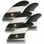 Koalition Surf 5 Fin Quad Thruster Set Futures L