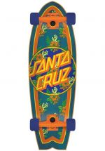 Santa-Cruz Vacation Dot Orange Blue Cruzer 27.7 - Mini Cruiser Skateboard
