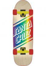"Santa-Cruz Skateboard 29"" x 8.8"" Street Skate Cruiser Skateboard natural"