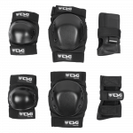 TSG Protection Set Basic black - Skate Schutzausrüstung