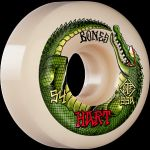 Wheels Bones Wheels STF Hart Speed Gator 54mm 99A V5 Sidecut white 4er Set