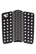 Creatures Front Deck III Surfboard Traction Pad Schwarz