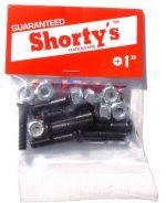 """Shortys 1"""" Kreuz Skateboard Schrauben Set"""