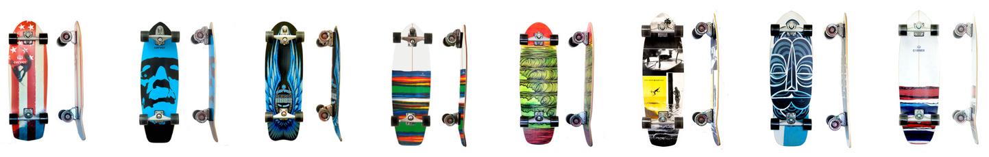 Carver Skateboards Vergleich