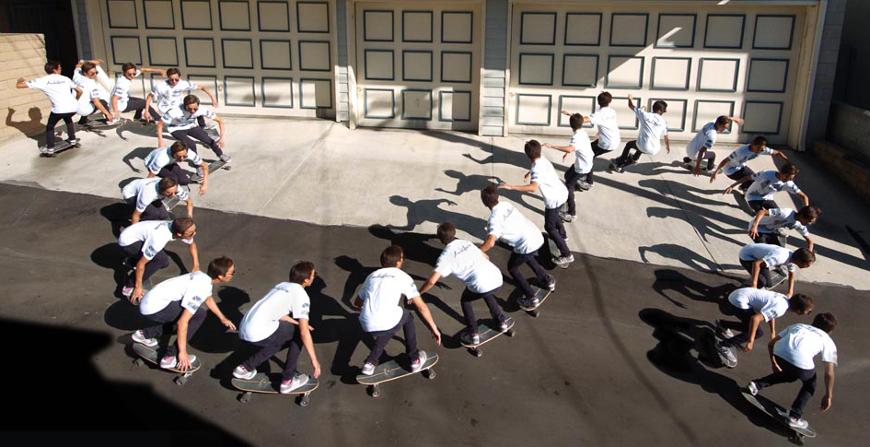 Carver Skateboards Turns Sequence
