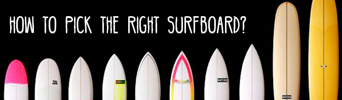 Surfboard Quiver: How to pick the right Surfboard?